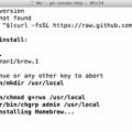 install homebrew on Mavericks Mac