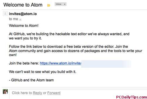 Atom Text Editor Beta Quick Look