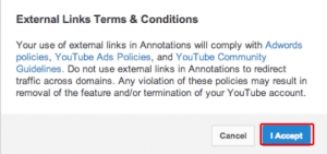 Terms and Conditions on Associated Website