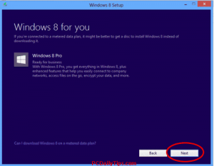 Windows 8 for you and the options