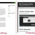 WordPress vs Octopress the default theme