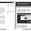 WordPress vs Octopress the default theme