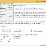 How to Open and Edit Hosts File on Windows 8.1