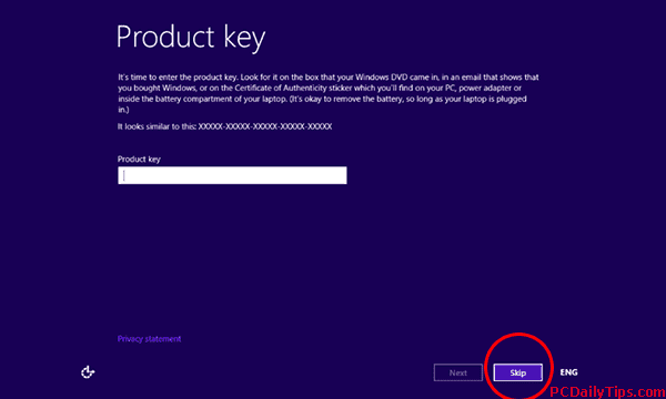 how to activate windows 8.1 without product key using cmd