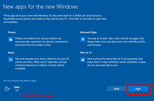 New apps for the new Windows