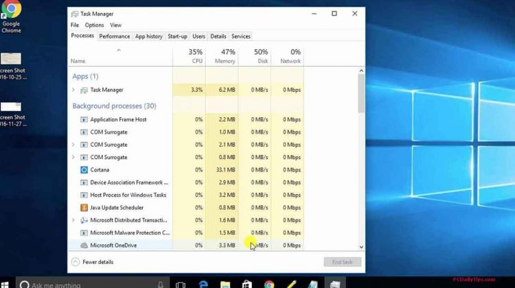 Enable or Disable Start-up Programs on Windows 10 Task Manager