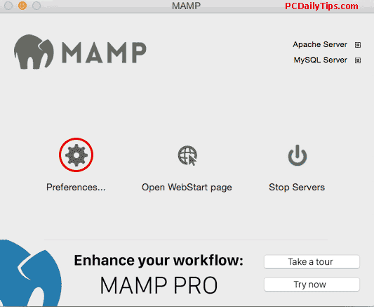 How To Update MAMP Server 2 2 to 4 1 Version