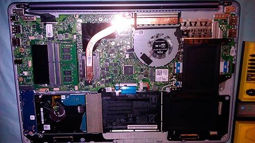The VivoBook F510UA is upgradeable