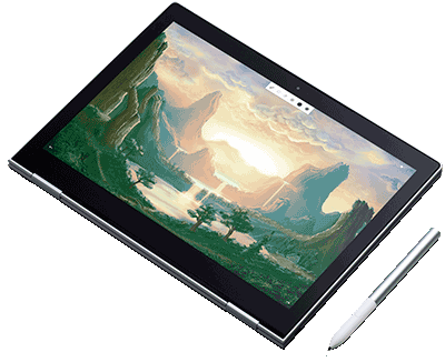 Pixelbook as a tablet